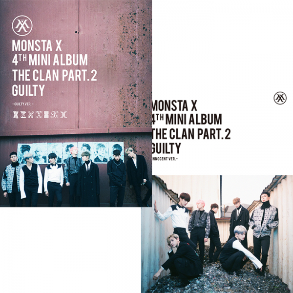 MONSTA X - 4th Mini Album - THE CLAN 2.5 PART.2 GUILTY