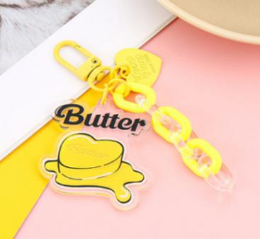 BTS - BUTTER Keychain