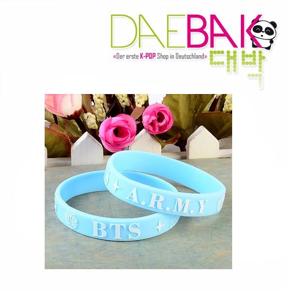 BTS - Armband (Blau)