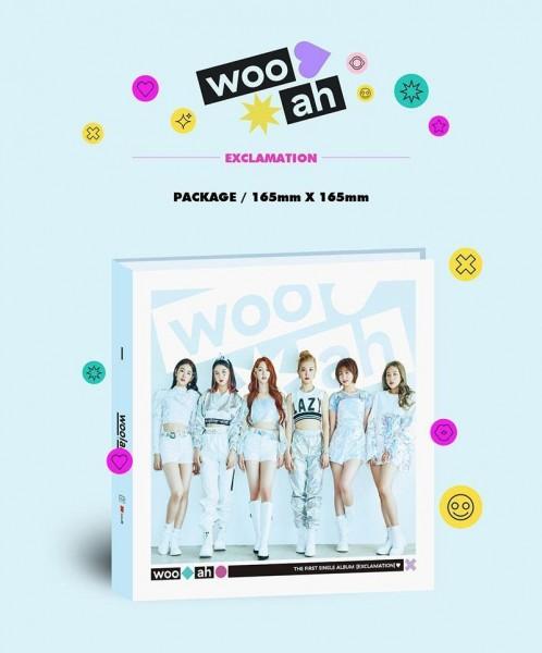 woo!ah! 1st Single Album - EXCLAMATION