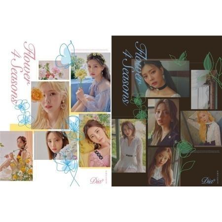 DIA 6th Mini Album - Flower 4 Seasons