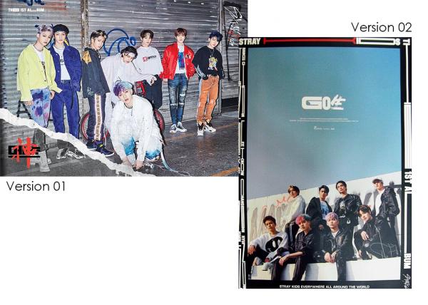 Stray Kids 1st Album - GO生 Poster