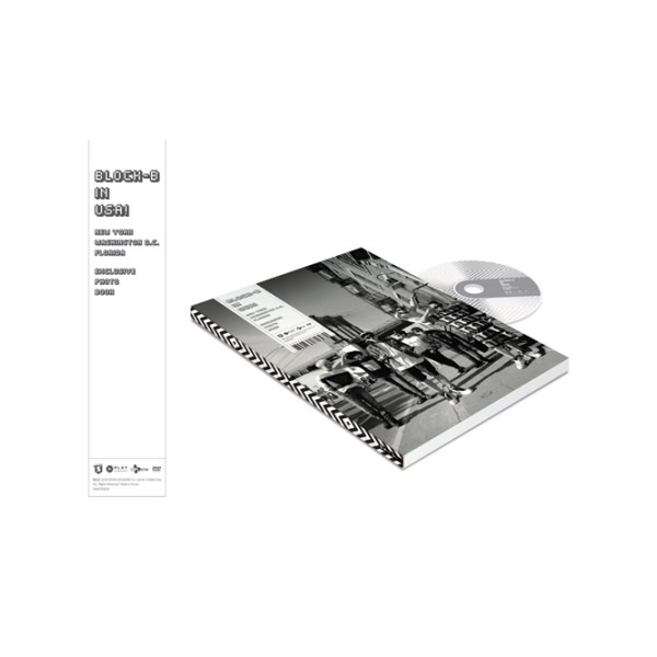 Block B - In USA Fotobuch + DVD