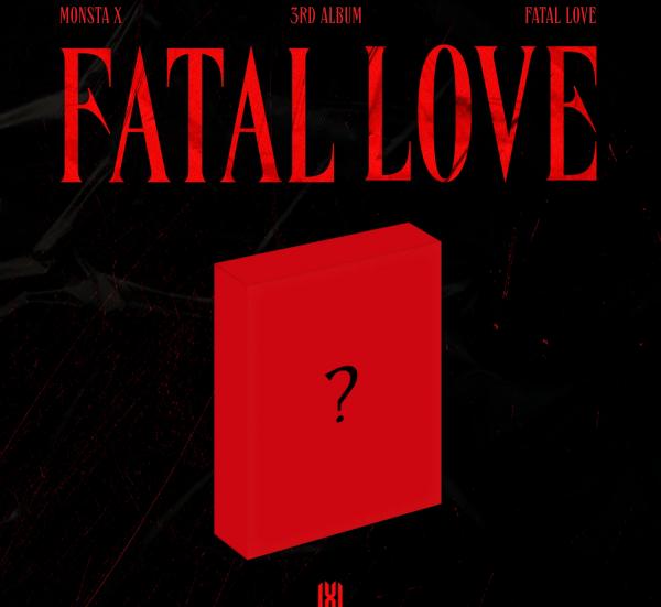MONSTA X 3RD ALBUM FATAL LOVE (KIHNO KIT)