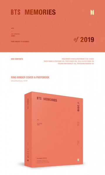 BTS - MEMORIES OF 2019 DVD (Last in Stock!)