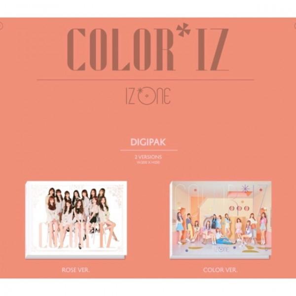 IZ*ONE 1st Mini Album - COLOR*IZ