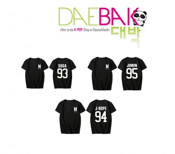 BTS - Member T-Shirt (Size:L) NEW LOGO