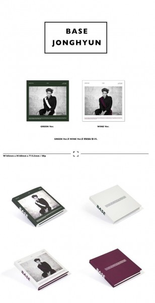 JONGHYUN (SHINee) - Base 1ST MINI ALBUM (White Version)