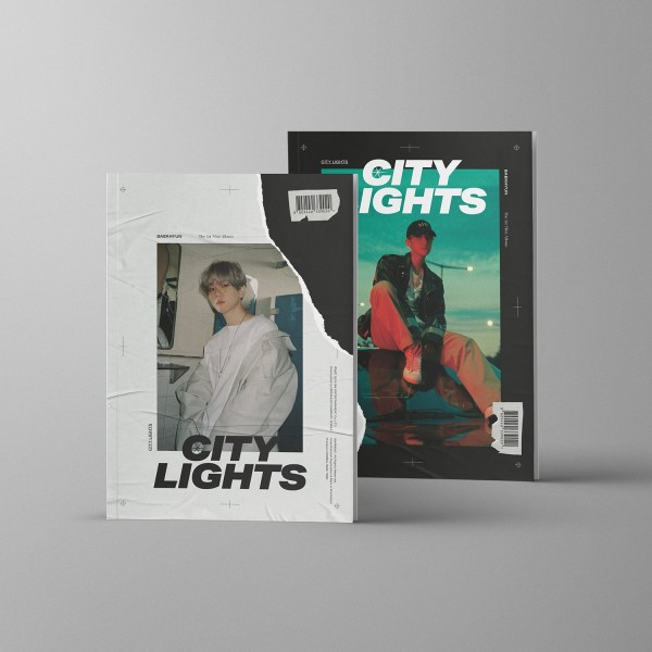 BAEKHYUN 1st Mini Album - City Lights