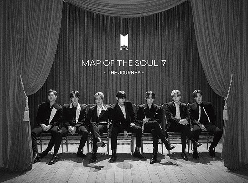 "BTS - Japanese Album MAP OF THE SOUL: 7 ""THE JOURNEY"""