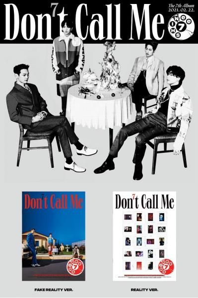 SHINee Album Vol. 7 - Don't Call Me (PHOTO BOOK Ver.)