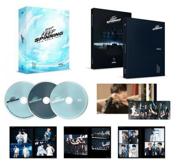 GOT7 - GOT7 2019 WORLD TOUR 'KEEP SPINNING' IN SEOUL DVD