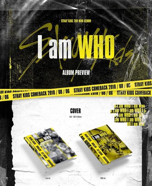 Stray Kids - I am WHO 2nd Mini Album