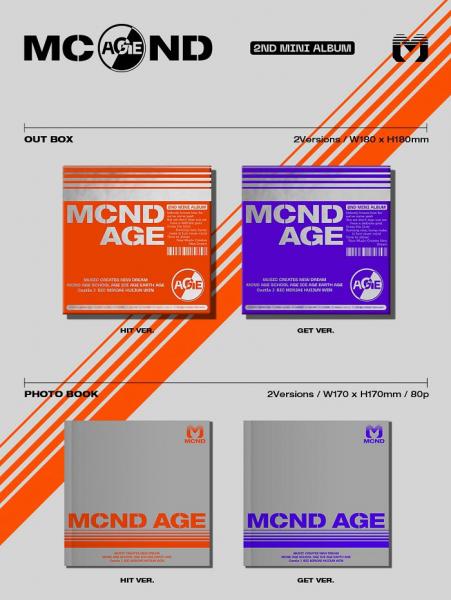MCND Mini Album Vol. 2 - MCND AGE