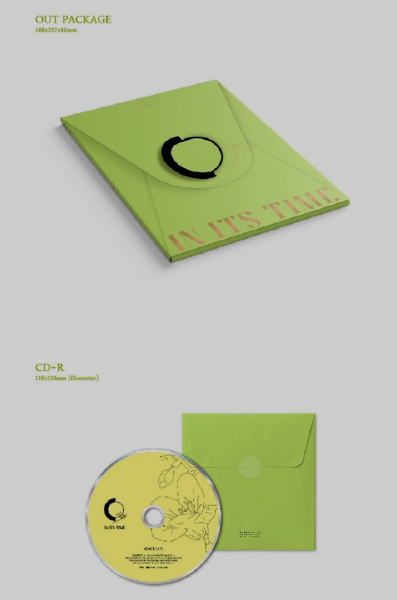 ONEUS 1st Single Album - IN IT'S TIME
