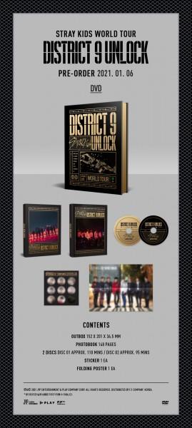 Stray Kids - World Tour 'District 9 : Unlock' in SEOUL DVD