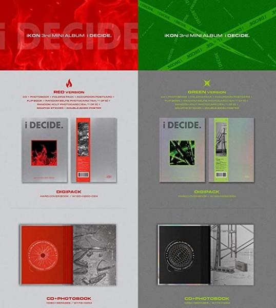 iKON 3rd MINI ALBUM - i DECIDE