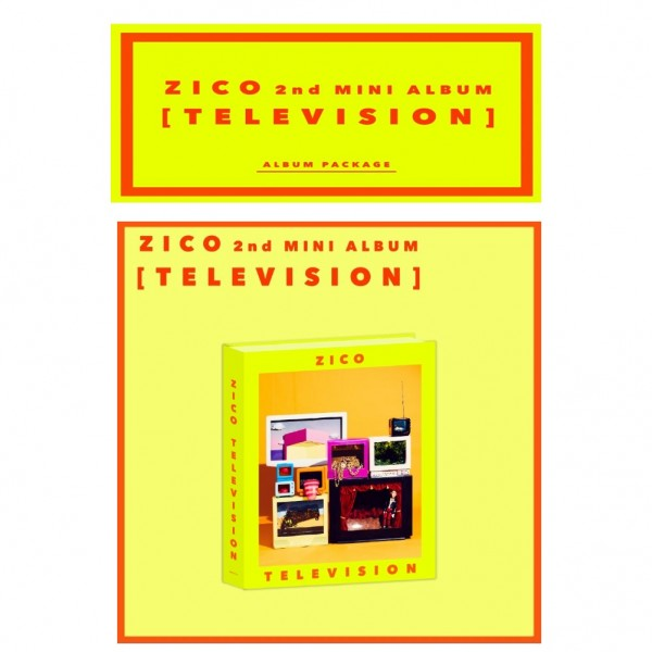 Zico - Mini Album Vol. 2 - TELEVISION