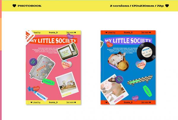 FROMIS_9 - MY LITTLE SOCIETY 3rd Mini Album