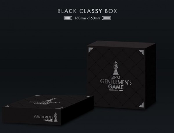 2PM - 6th Album - Gentlemen's Game (NORMAL EDITION)