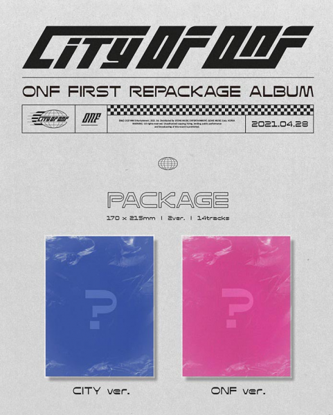 ONF - 1st REPACKAGE [CITY OF ONF]