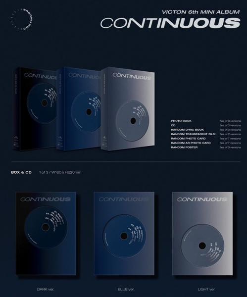 VICTON 6th Mini Album - Continuous