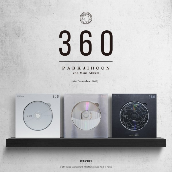 PARK JIHOON 2nd Mini Album - 360