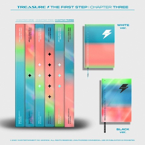 TREASURE Single Album Vol. 3 - THE FIRST STEP : CHAPTER THREE