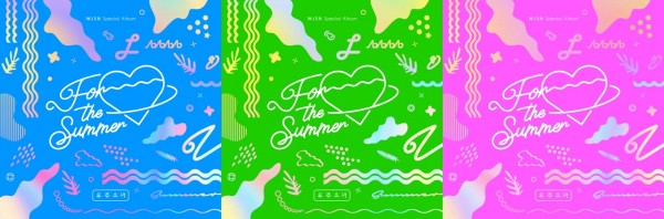 WJSN (Cosmic Girls) SPECIAL ALBUM - For the Summer (pink Vers)