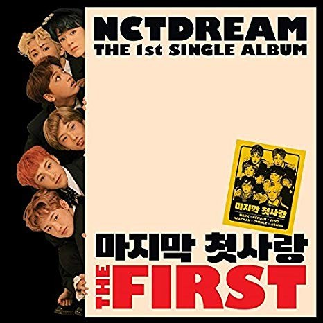 NCT DREAM - THE FIRST 1st Single Album (RE-RELEASE)