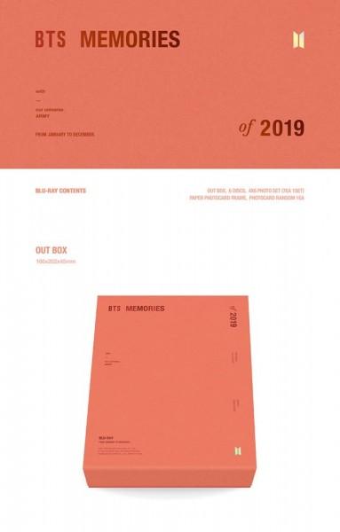 BTS - MEMORIES OF 2019 BLU-RAY