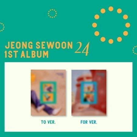 JEONG SEWOON 1st Album - 24