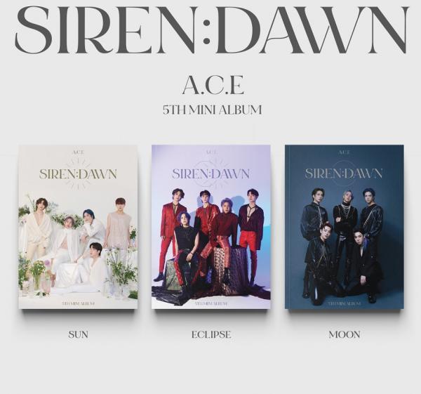 A.C.E - SIREN : DAWN 5th Mini Album