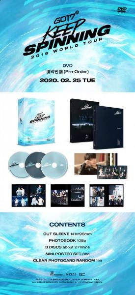 GOT7 - GOT7 2019 WORLD TOUR 'KEEP SPINNING' IN SEOUL DVD