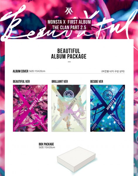 Monsta X - 1st Album - BEAUTIFUL
