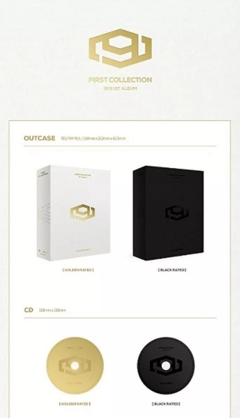 SF9 Album Vol. 1 - FIRST COLLECTION