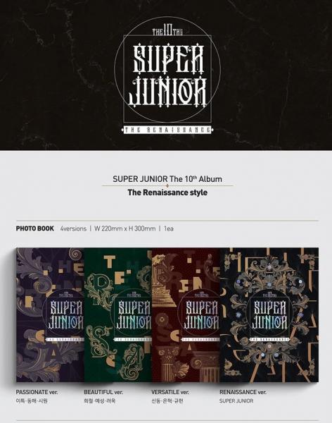 SUPER JUNIOR - THE RENAISSANCE [The Renaissance Style]