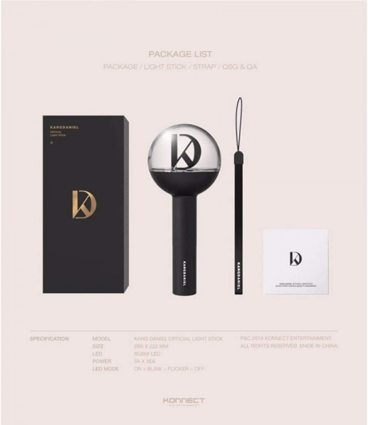 Kang Daniel - Official Light Stick