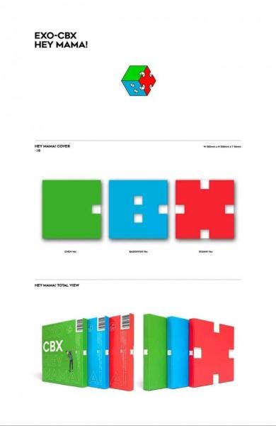 EXO-CBX - 1st Mini Album - Hey Mama