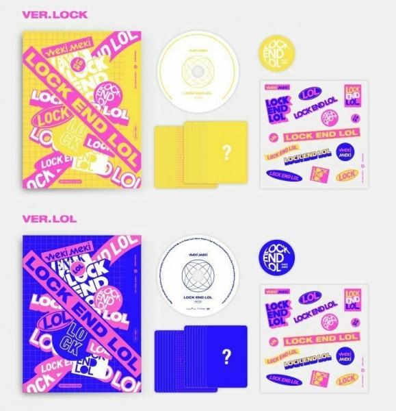 Weki Meki 2nd Single Album - LOCK END LOL (Look Vers.)