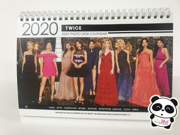 Twice - Tischkalender 2020 / 2021