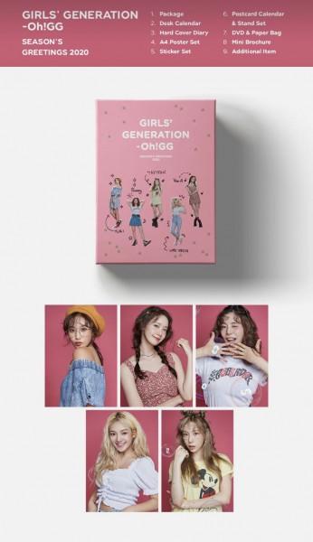 Girls' Generation 2020 SEASON'S GREETINGS OH!GG
