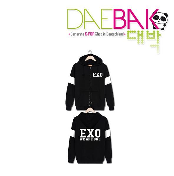 Exo (We are one) - Zipper Hoodie