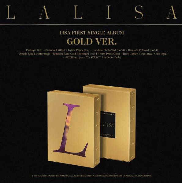 LISA FIRST SINGLE ALBUM - LALISA