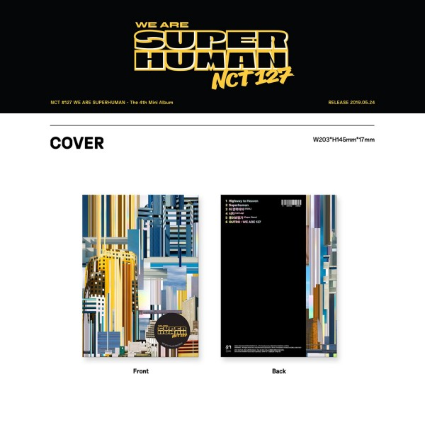 NCT 127 4th Mini Album - WE ARE SUPERHUMAN