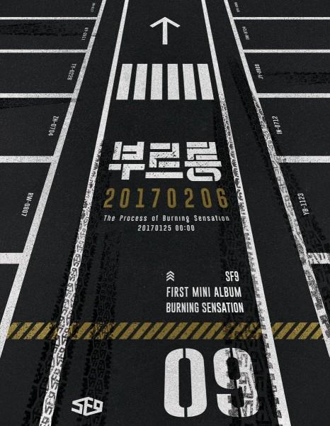 SF9 - 1st Mini Album - BURNING SENSATION