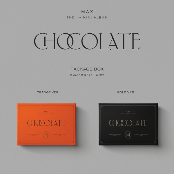 TVXQ MAX 1st Mini Album - Chocolate