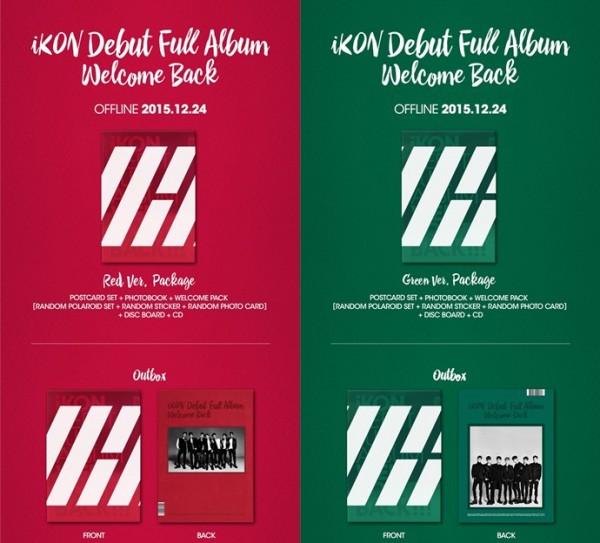 iKON Debut Full Album - WELCOME BACK