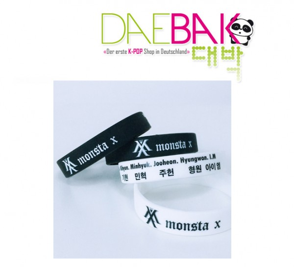 Monsta X - Armband (Schwarz)