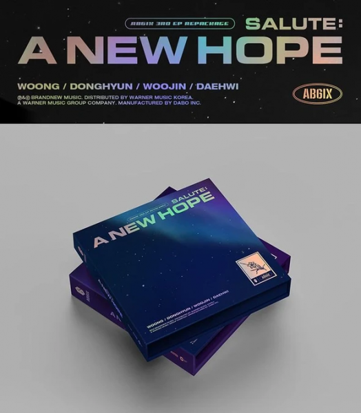 AB6IX EP Vol. 3 (Repackage) - SALUTE : A NEW HOPE
